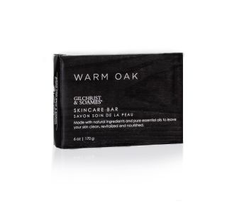 Warm Oak, 6oz skincare bar