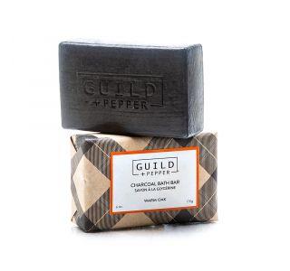 Charcoal Glycerin Soap | Guild + Pepper | Gilchrist & Soames