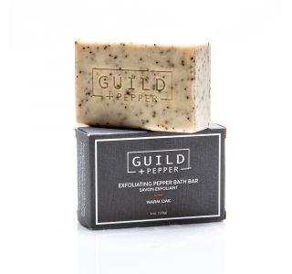 Exfoliating Pepper Soap | Guild + Pepper | Gilchrist & Soames