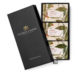Verde™ Exfoliating Olive Soap Trio, 6oz
