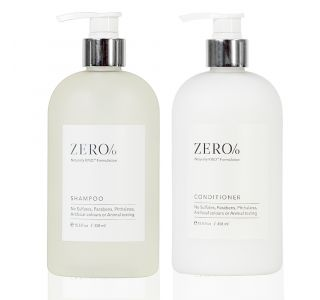 Zero Percent Hair Care Set, 15.5oz
