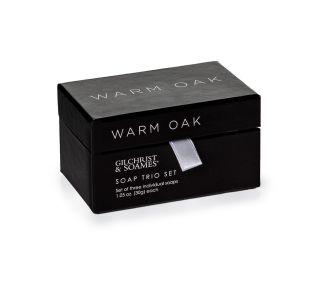 Warm Oak Soap Chest