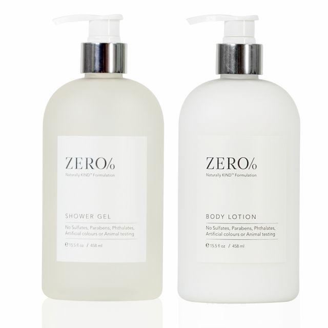 Zero Percent Body Care Set, 15.5oz