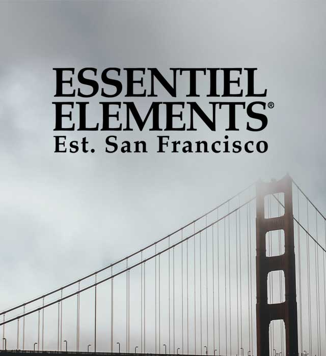 Essentiel Elements Rosemary Mint, with an invigorating scent and chill San Francisco vibe